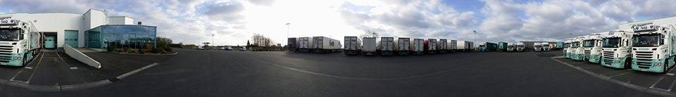 Vue panoramique du site des Transports Rosette